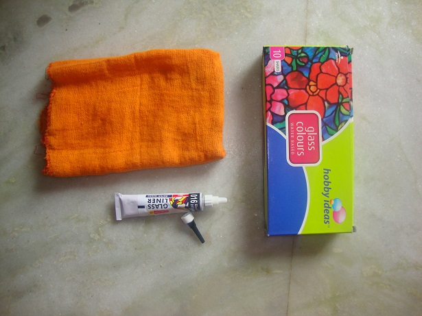 glass painting supplies