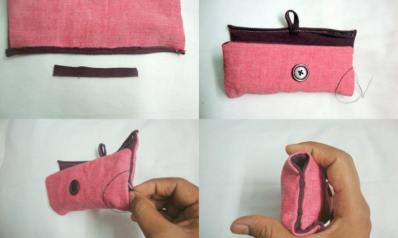 Fold and stitch