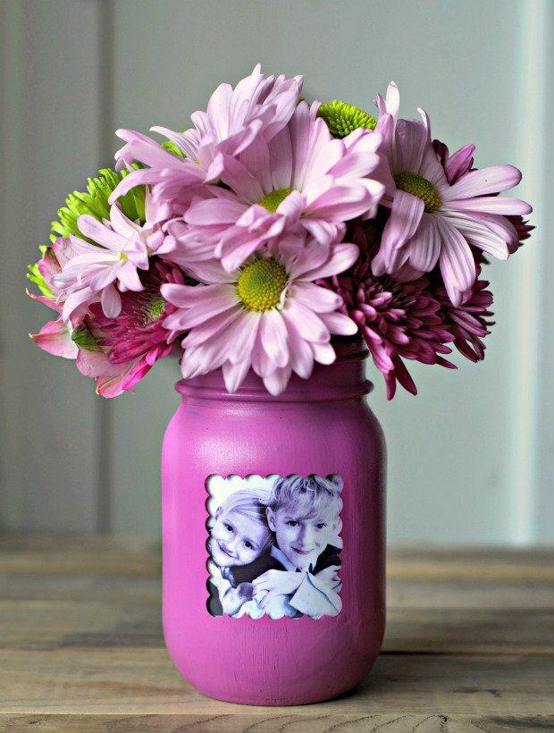 picture frame vase