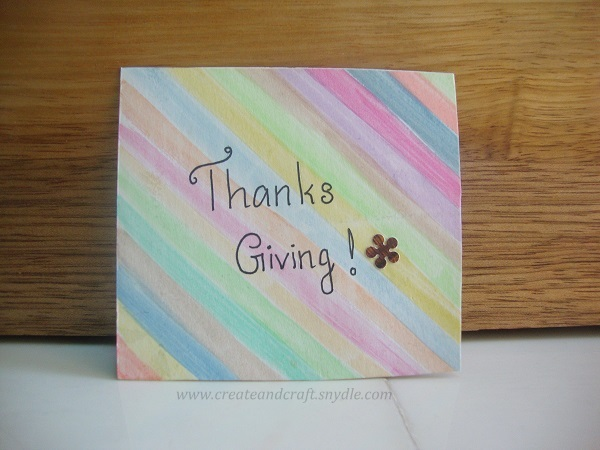 How to make water colour greeting card for thanksgiving create and how to make water colour greeting card for thanksgiving create and craft m4hsunfo