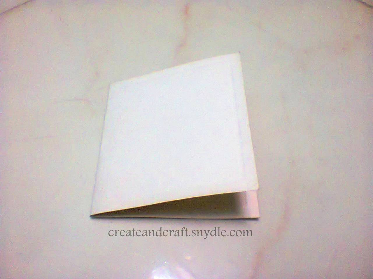 fold cardstock